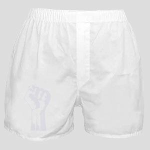Ben_Fist_t-shirt_wht Boxer Shorts