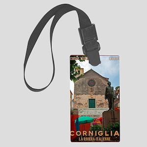 Cinque Terre - Corniglia Large Luggage Tag