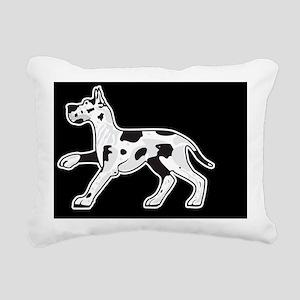 harlequin3 Rectangular Canvas Pillow