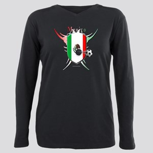 Mex Soccer Breakthrough Plus Size Long Sleeve Tee