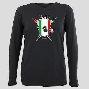 Mex Soccer Breakthrough Plus Size Long Sleeve Tee