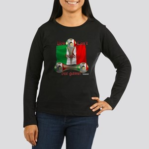 Mexico Game On Women's Long Sleeve Dark T-Shirt