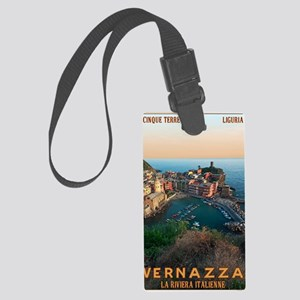 Cinque Terre - Vernazza Large Luggage Tag