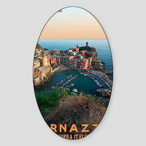 Cinque Terre - Vernazza Sticker (Oval)