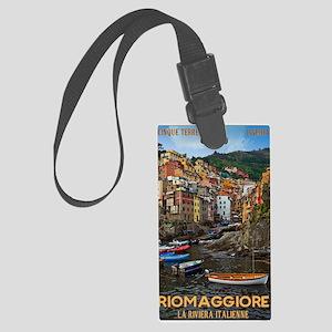 Cinque Terre - Riomaggiore Large Luggage Tag