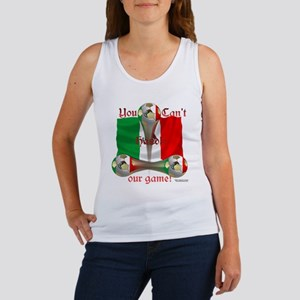 Mexico Soccer Game On Women's Tank Top