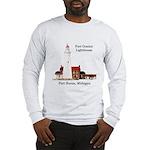 Fort Gratiot Lighthouse Long Sleeve T-Shirt