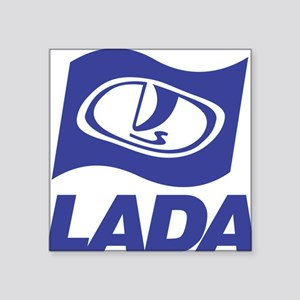 "Lada Logo Square Sticker 3"" x 3"""
