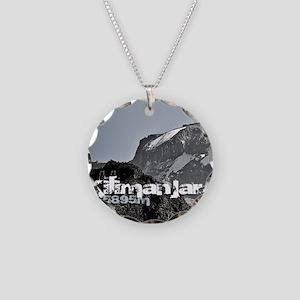 KiboShotGlass Necklace Circle Charm