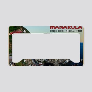Manarola Town License Plate Holder
