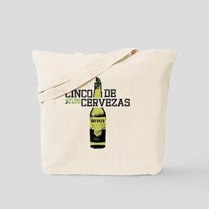 cinco-cerveza Tote Bag