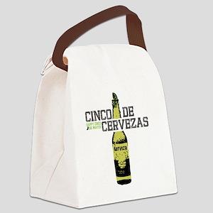 cinco-cerveza Canvas Lunch Bag