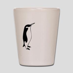 penguin3 Shot Glass