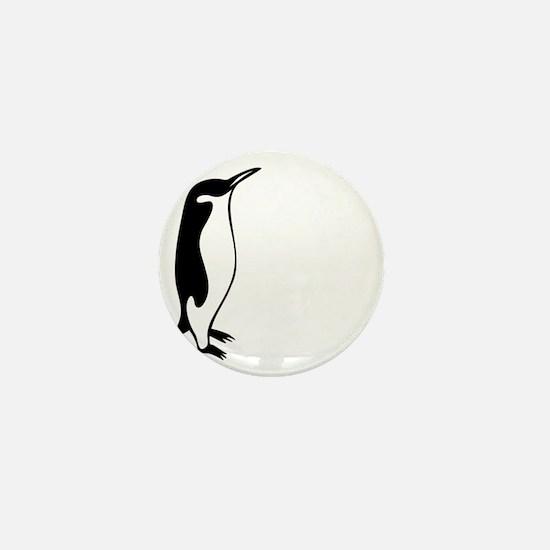penguin3 Mini Button
