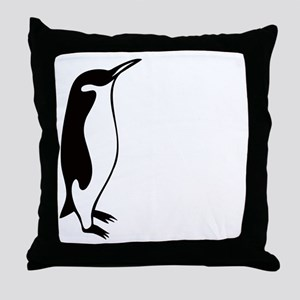 penguin3 Throw Pillow