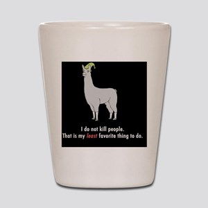 Llamas-D2r-Buttons Shot Glass