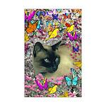 Stella Cat Butterflies Mini Poster Print