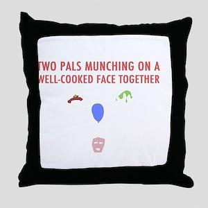 Llamas-D14r-iPad2Case Throw Pillow