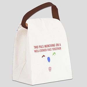 Llamas-D14r-iPad2Case Canvas Lunch Bag