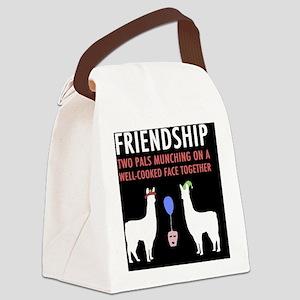Llamas-D14r-Journal Canvas Lunch Bag