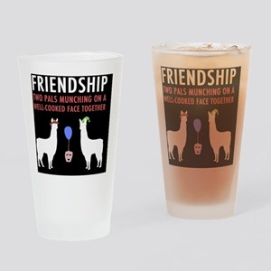 Llamas-D14r-Journal Drinking Glass