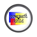 covenant child Wall Clock
