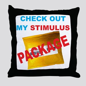 stimulus_package Throw Pillow