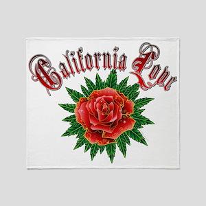 California love Throw Blanket