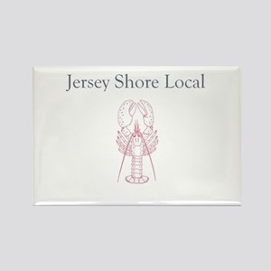 Jersey Shore Local Rectangle Magnet