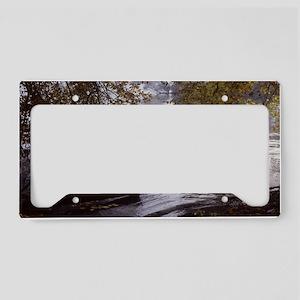 Acton LakeMiniPoster License Plate Holder