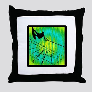 NEVER BE CONTAINED Throw Pillow
