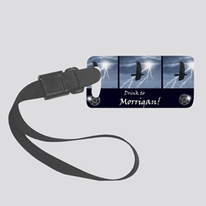 morrigan-stein12 Small Luggage Tag