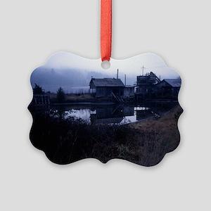 Washington Old Sawmill-miniposter Picture Ornament
