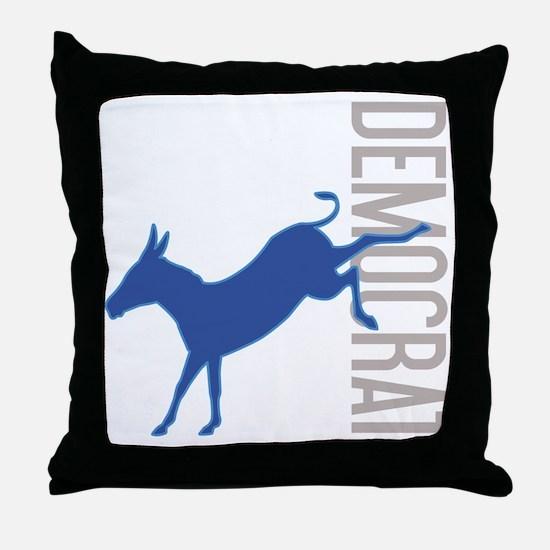 DemDonkey Throw Pillow