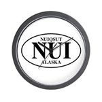 Nuiqsut Wall Clock