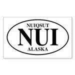 Nuiqsut Rectangle Sticker