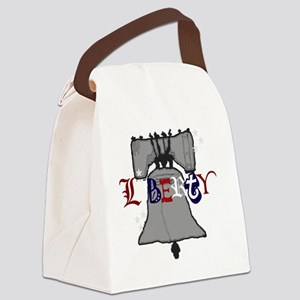 Liberty Bell img Canvas Lunch Bag