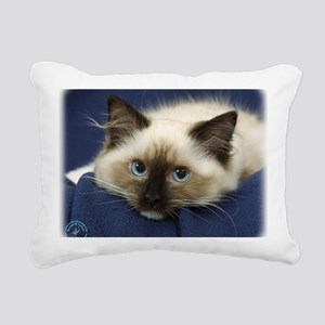 Ragdoll Cat 9W082D-020 Rectangular Canvas Pillow