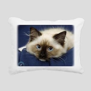 Ragdoll Cat 9W082D-020 Rectangular Canvas Pillow