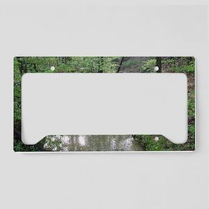 Creek in Germantown ReserveMi License Plate Holder