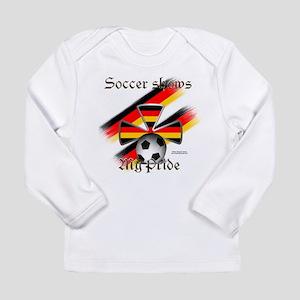 German Pride2 Long Sleeve Infant T-Shirt