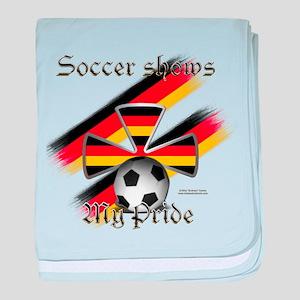 German Pride2 Baby Blanket