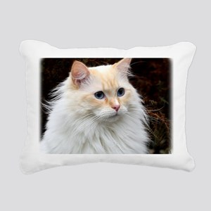 Ragdoll Cat 9Y448D-019 Rectangular Canvas Pillow