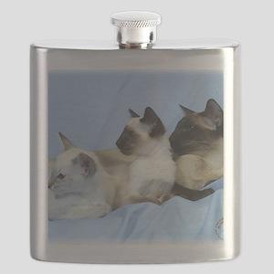 Siamese Cat 9W055D-074 Flask