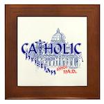 Catholic and Christian Framed Tile