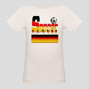 Bold Soccer German Baby Organic Baby T-Shirt
