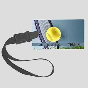 Tennis2 Large Luggage Tag