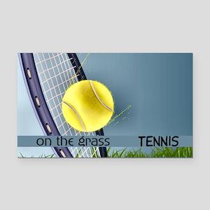 Tennis2 Rectangle Car Magnet