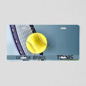 Tennis2 Aluminum License Plate