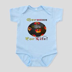 German Soccer Fan 4 Life Infant Bodysuit